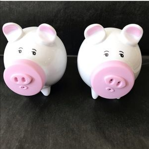 Pig Ceramic Salt Pepper Shakers